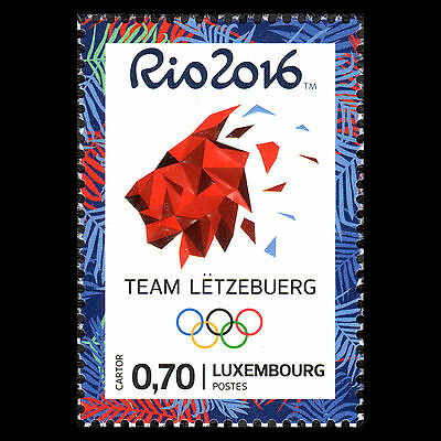 """Luxembourg 2016 - Summer Olympic Games """"Rio de Janeiro"""" Sports - MNH"""