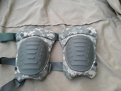 Military New Extended Knee Pads Army Issue Digital Camo