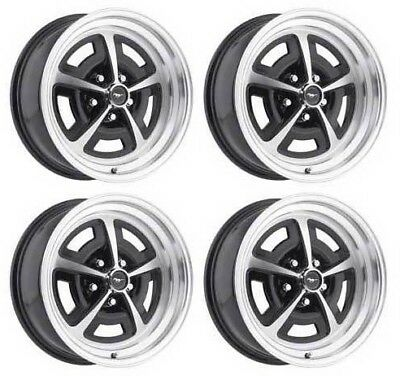 Magnum 500 Wheels >> Ford Mustang Magnum 500 Wheel Set 4 Alloy 15 X 7 1967 1968 67 68