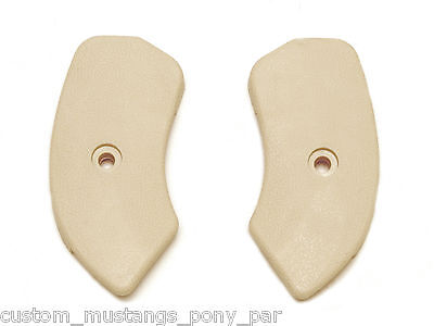 Mustang Seat Hinge Covers 1964 1965 1966 1967 64 65 66 67 GT Shelby Coupe FB Con