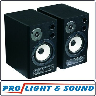 Behringer MS40 Stereo Monitor Speakers, 121mm, Active (Pair)