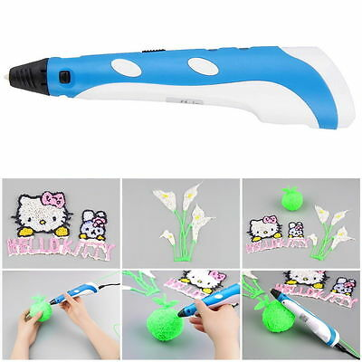 3D Printing Drawing Pen Crafting Modeling ABS Filament Arts Printer Tool Gift AB