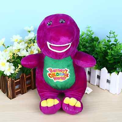 """Singing Friends Barney 12"""" I LOVE YOU Plush Doll Toy Gift For Kids Child"""