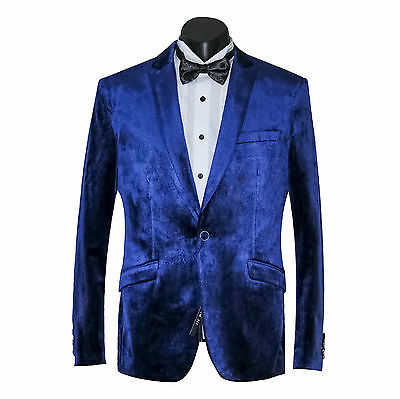 New Arrival: Men's Slim Fit Velvet Suit Jacket & Trousers