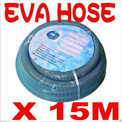 High Quality EVA 15m 50ft Heavy Duty Pool Hose with Cuff for Swimming Cleaner
