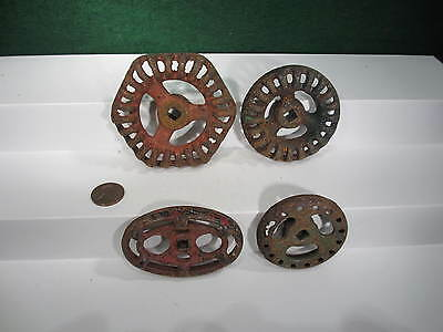 Industrial Valve handles/knobs,   Steampunk, Industrial Art.   Used.