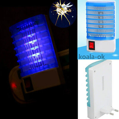 Hot LED Socket Electric Mosquito Fly Bug Insect Trap Night Lamp Killer hot Kr