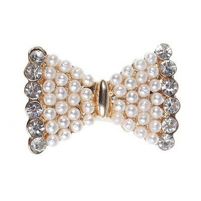 Pearl and Bling Rhinestone Home Button Sticker for Samsung Galaxy S3 BT