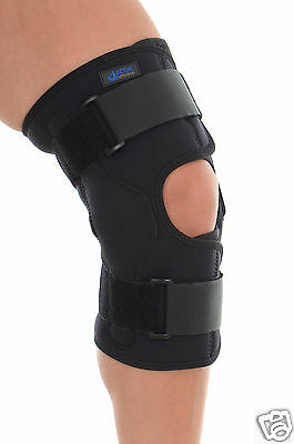 Stabilizing Hinged knee Patella support brace all sizes all sizes TEMP REDUCED