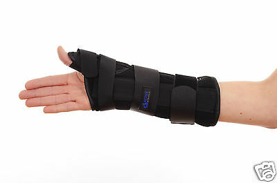 Orthotic Neoprene Wrist Brace arthritis thumb support removable stays all sizes