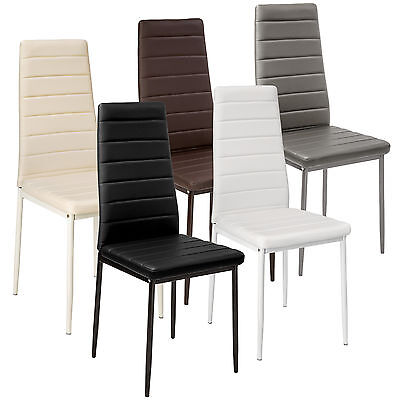 Modern Dining Chairs Dining Room Chair Table Faux Leather Furniture Cozy