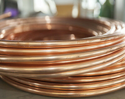 Copper Pipe Tube 6mm 8mm 10mm diy Copper Tube Gas Plumbers Tube Pipe