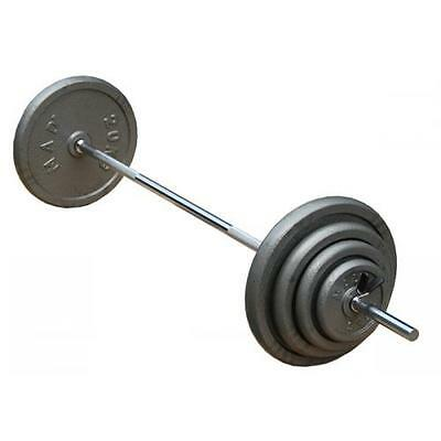 Fitness Mad Strength FWB60D1 Olympic Weights Plate Straight Bar - 5ft (152.4cm)