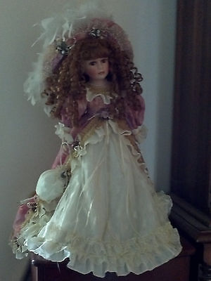 """""""price Reduced"""" Beautiful Porcelain Doll"""