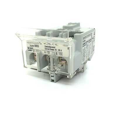 Overload Relay 9065TMP25 Square D 25-35A 9065-TMP-25