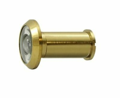 Door Viewer with 200 Degree Viewing Angle Solid Brass in 9 Finishes By FPL