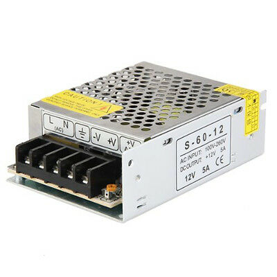 60W Switching Switch Power Supply Driver for LED Strip Light DC 12V 5A BT