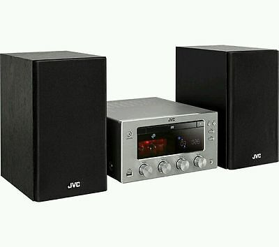 JVC Wireless  Hi-Fi  with Valve Amplifier Bluetooth with NFC DAB/FM UX-D150 R