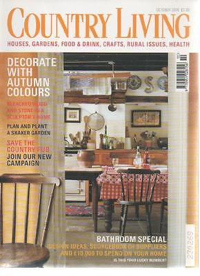 COUNTRY LIVING MAGAZINE October 2000 Autumn Colours AL