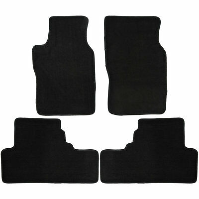 UAA Custom-fit Black Carpet Car Floor Mats Set for Infiniti G37 sport 2008-2013