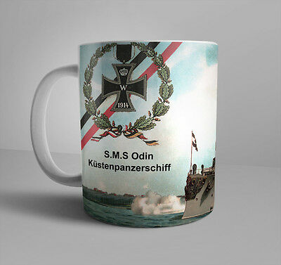 SMS Odin Coastal Defense Ship Imperial German Navy WWI German Empire Iron Cross