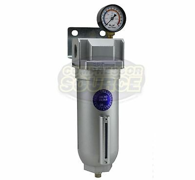 """1"""" Large Body Industrial Compressed Air In Line Oil Coalescing Filter Oilesser"""