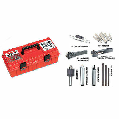 """JET 22pc Turning Tool Kit for 13 & 14"""" Lathes 660200 New"""