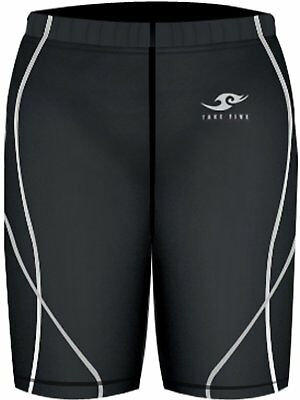 Youth Girls Compression Sports Gear Base Layer Skin Tight Shorts Pants | Black