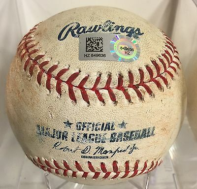 Ichiro Suzuki Game Used Baseball From Game He Tied Ty Cobb Career Hits #4191