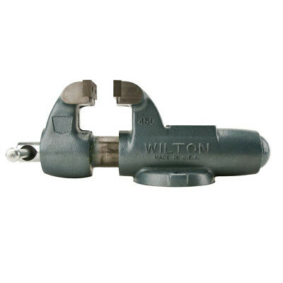Wilton WMH10086 450N Stationary Machinists' Bench Vise, 4-1/2 in. Jaw Width New