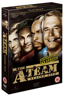 The A-Team Complete 5th Season Dvd Brand New & Factory Sealed