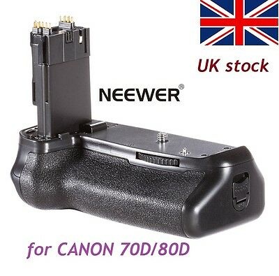 Pro Battery Grip Holder Replacement As BG-E14 for Canon EOS 70D 80D Camera DSLR