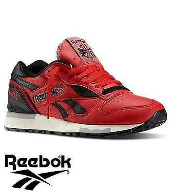 Reebok Classic LX 8500 trainer (Red/Black/Whit BNWT Adult Sizes UK 2 - 6, RRP£90