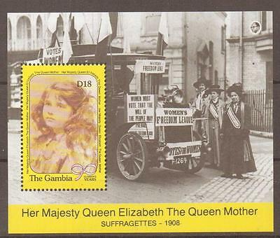 GAMBIA SGMS1063 1990 90th BIRTHDAY QUEEM MOTHER MNH
