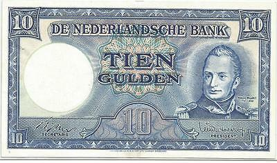 10  Gulden   1949     Pick 83  Pays-Bas  Netherlands   Xf   Sup