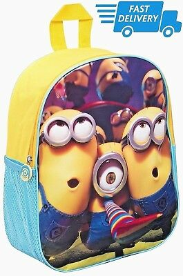 e4fdad3ca942 Despicable Me Minions Messenger School Bag New Gift Despatch Backpack  Rucksack