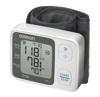 Omron RS3 Wrist Blood Pressure Monitor - HEM-6121-E