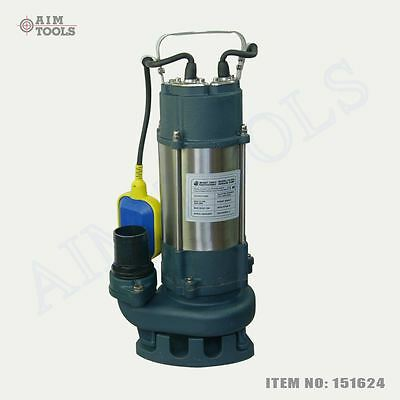 MERRY® Heavy Duty 750W Submersible Sewage Dirty Waste Water Pump Floating Switch