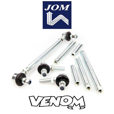 JOM Short Adjustable Front Drop Links 15-20cm, 22-27cm, 27-32cm M10 M12 740412D