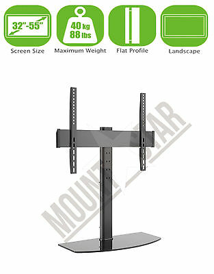 """Replacement TV Table Top Stand Pedestal Base Fits 26-55"""" LCD LED Plasma Screens"""