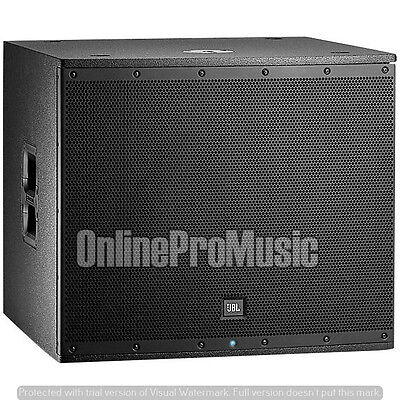 JBL EON618S 1000 Watt Powered 18 Inch Subwoofer + 25ft XLR Cable