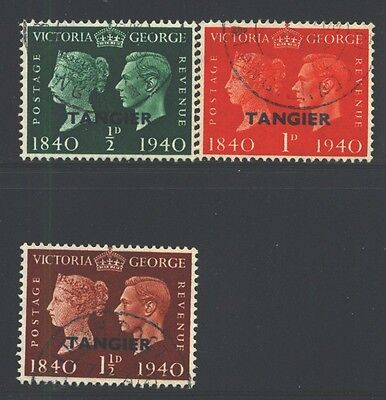 MOROCCO AGENCIES 518-20 SG248-50 Used 1940 100th Anniv Stamps set of 3 Cat$12