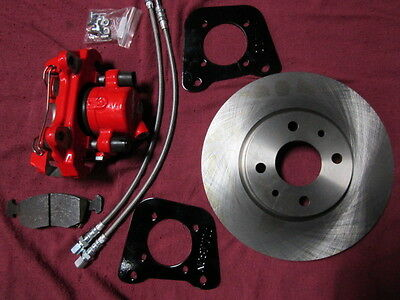 Fiat 124 Spider Big Brake Kit- Street High Performance, Racing, Complete Kit