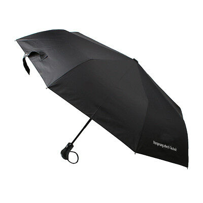 OE Auto Telescopic Pocket Umbrella Small Short One Key Open Close Black For AUDI