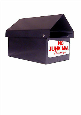No Junk Mail Thankyou  For Letterbox Mail Box Sticker Decal