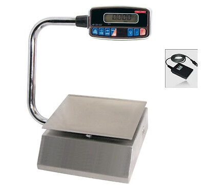 Torrey PZC-10 Pizza Portion Control Scale Stainless Steel 20X0.005lb,Foot Tare