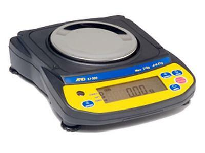 """A&D EJ-300 Precision Compact Lab Balance,310X0.01g Jewelry Scale,Pan 4.3"""",New"""