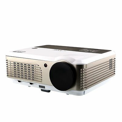 1280P HD Android HDMI Home Theater LED Video Projector with WIFI RCA VGA USB TV