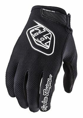 2017 Troy Lee Designs TLD Youth Air Gloves Black MX Motocross Off-Road MTB DH