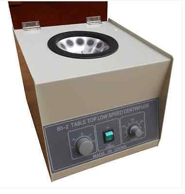 80-2 Electric Centrifuge Lab Medical Practice Timer 4000rpm 20ml x12 a
